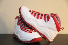 '05 DS Nike Air Jordan Retro X 10 Varsity Red Steel Grey White 10.5 (310805-161)