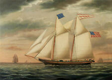 Best gift Ship Sailing Oil painting Art wall Picture HD Printed on canvas Zsh74
