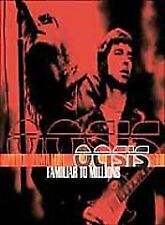Oasis - Familiar To Millions (DVD, 2001) Epic Records Blue Cover Disc Nr. Mint