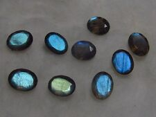 Natural Labradorite Faceted Cut Oval Calibrated Size Top Quality Loose Gemstone