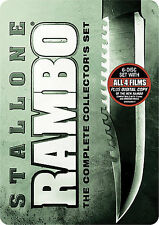 Rambo The Complete Collector's Set DVD 2008 6-Disc Series Show Movies Lot Box TV