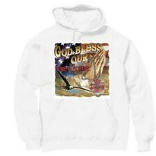 Pullover Hooded Hoodie Sweatshirt Fireman Firefighter God Bless our Firefighters