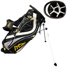 MD Golf Mens Deluxe Stand Bag - New Dual Carry Strap Cart 7 Way Divider Top 2017