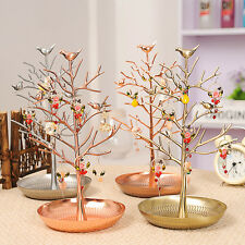 Jewelry Display Tree Stand Holder Earring Bracelet Necklace Ring Organizer Rack