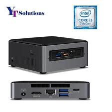 Intel NUC7i3BNH Core i3-7100U 7th Gen NUC Mini PC w/ RAM SSD or HDD Assembled