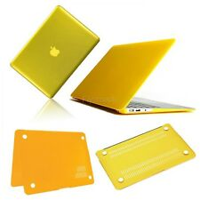 "Yellow Frosted/Crystal Plastic Hard Case For Apple Macbook Pro 13"" FTMK01"