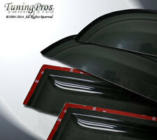92-99 Chevrolet Suburban C1500 2.0mm In-Channel Rain Guard Deflector Visor 4pcs