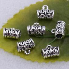 Wholesale Tibetan Silver Spacer Bail Beads Charms For Jewelry Making