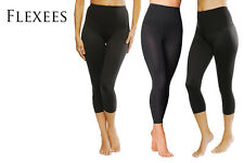 FLEXEES FIRM CONTROL TUMMY TONING LEGGINGS BY MAIDENFORM ALL SIZES - FREE POST
