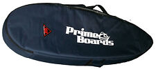DUAL SURFBOARD CARRY TRAVEL BAG/COVER 10MM PADDING GREY OR NAVY PRIME SURFBOARDS