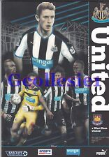 Newcastle United Home Programmes Choose from drop Down List