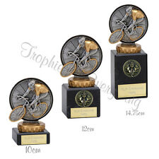 "Cycle Track Road Racing Bike Trophy Award on Marble Bases"" FREE ENGRAVING"""