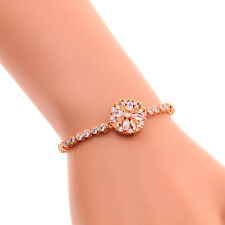 Morganite Silver- Rose Gold Filled Women Jewelry Adjustable Bracelet NS2008-09