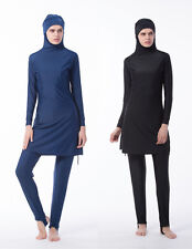 Women Muslim Swimwear Modesty Islamic Swim Swimsuit Beachwear Burkini Full Cover