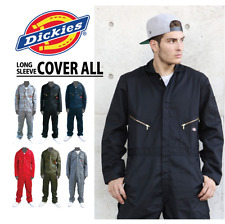DICKIES # 48799 Long Sleeve COVERALLS Work Construction Gear Warranty S-4XL