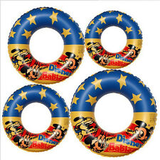 Inflatable Cartoon Mickey Mouse Swim Rings Swimming Pool Floats for Kids Adult
