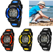 Kids Child Boy Watch NEW GIFT Band Led Digital Sport Casual Quartz Wrist Watch