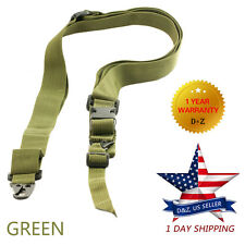 Tactical 3 Three Point Airsoft Rifle Gun Sling Universal Strap Hunting GREEN