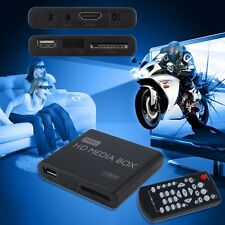 Mini Full 1080p HD Media Player Box MPEG/MKV/H.264 HDMI AV USB + Remote Lot MU