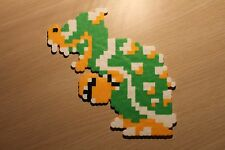 Bowser Pixel Art Bead Sprite from Super Mario Bros for NES