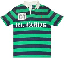 NEW $145 POLO RALPH LAUREN Custom Fit Rugby Shirt VINTAGE C1 Rafting RL Guide