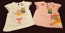 BNWT Baby Girls White or Pink IN THE NIGHT GARDEN Top Various Sizes