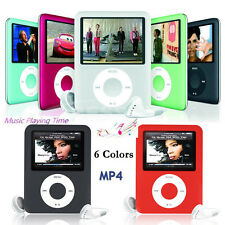 "Slim Mini 8GB 1.8"" LCD Screen Media Video Game Movie Radio FM 3th MP3 MP4 Player"