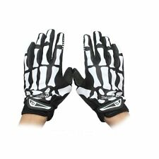 Cycling Motorcycle Full Finger Racing Skeleton Skull Sports Warm Bicycle Gloves