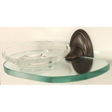 Alno A8030-CHBRZ Classic Traditional Soap Holder with Dish Chocolate Bronze
