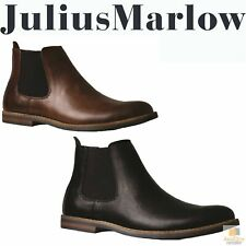 JULIUS MARLOW JM33 Manny Boots Work Casual Dress Shoes Slip On Men's Chelsea