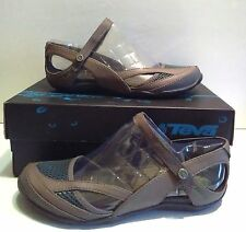 NEW Teva Northwater Brown Mary Jane Sandals Flats Water Shoes WOMENS sz 6