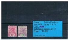 GB Stamps - British Honduras, Falklands, Fiji