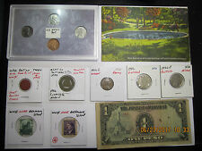 Misc Lot #1 of Coins, Tokens, Medals, World, Plated, and Junk Drawer Misc