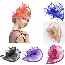 Tea Party Coaktail Fascinator Penny Mesh Pillbox Hat with Headband Hair Clip