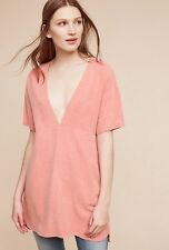 Anthropologie Silk Tourmaline Tunic by Storm & Marie Pink NWT XS S M L $148