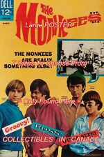 "THE MONKEES 1967 = TV Show = POSTER Not Comic Book CHOOSE FROM 7 SIZES 19"" - 36"""