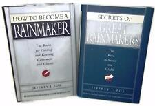 RAINMAKER Books BECOME SECRETS - Jeffrey J. Fox Best Selling Author Lot 2 BO2
