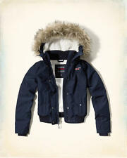 Abercrombie & Fitch – Hollister All Weather Sherpa Bomber Jacket XS S L XL NWT