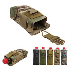 Tactical Ourdoor Radio Case Walkie Talkie Pouch Bag Bottle Cage Waistpack Cool