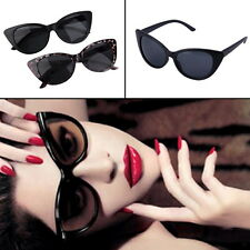 Women Cat Eye Retro Vintage Style Rockabilly Sunglasses Eye Glasses SCW ZT