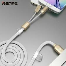 Best Micro Android iPhone Lightning USB Fast Charging Cord Data Sync Flat Cable