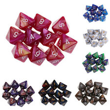 10PCS 8 Sided Dice D8 Polyhedral Dice for Dungeons and Dragons MTG RPG New