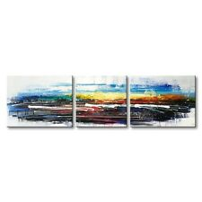 Hand Painted Framed Modern Canvas Wall Art Landscape Oil Painting Texture Decor