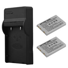 2xEN-EL5 Battery+Charger For Nikon Coolpix P4 P80 P90 P500 P520 P530 P5100 P6000