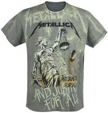 Metallica ... And Justice For All - Neon Backdrop T-Shirt charcoal
