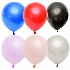 "50x 12"" Latex Balloons Party Decorations Wedding Birthday Large Balloons"
