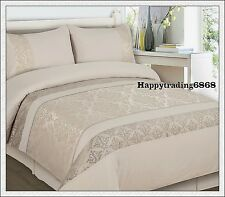 280TC Jacquard Weave Latte Beige * KING QUEEN DOUBLE QUILT DOONA COVER SET