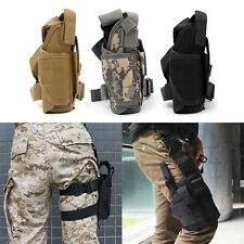 Adjustable Pistol Gun Drop Bag Puttee Leg Thigh Holster Pouch Holder Sporting