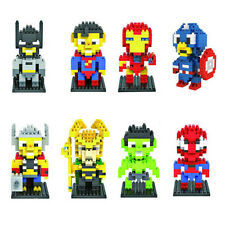 1 Sets Super Heroes Minifigures Building Toys Marvel's The Avenge Blocks LASR
