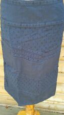 New White Stuff summer navy lace skirt  COTTON LINED top quality RRP £39.95